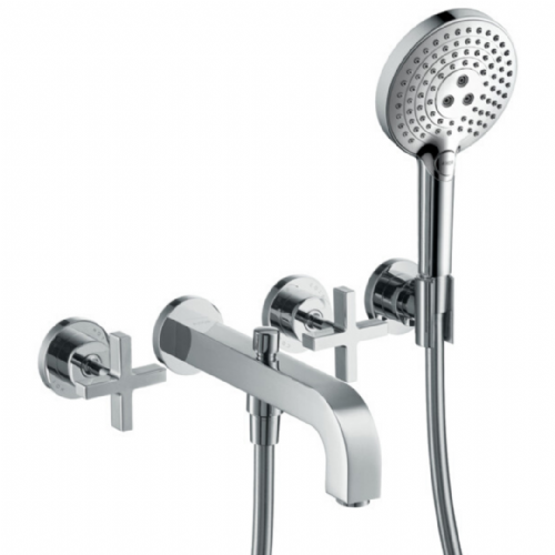 Hansgrohe Axor Citterio 3 Tap Hole. Wall Mounted Bath Taps - Model 39447000